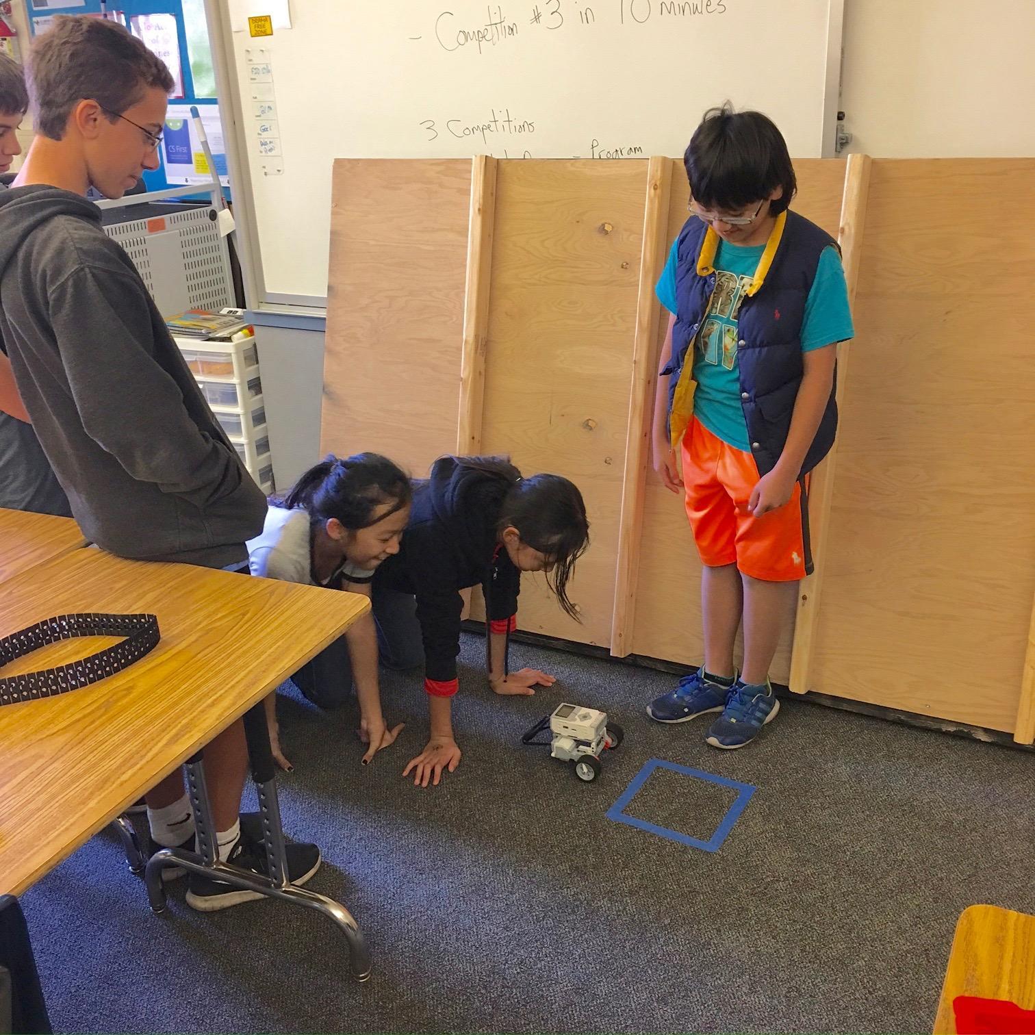 Robotics Team Practice