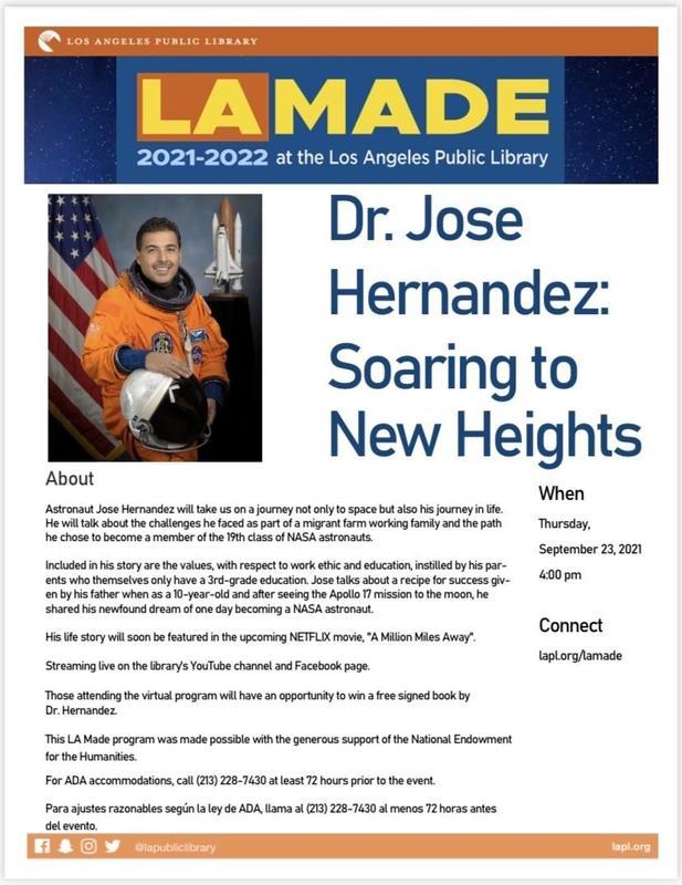 Dr. Jose Hernandez Virtual Program