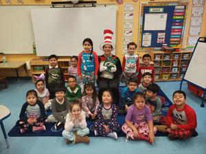 cat in the hat class photo