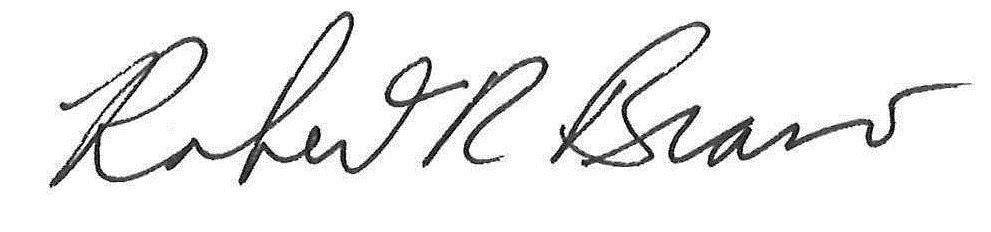 signature of superintendent