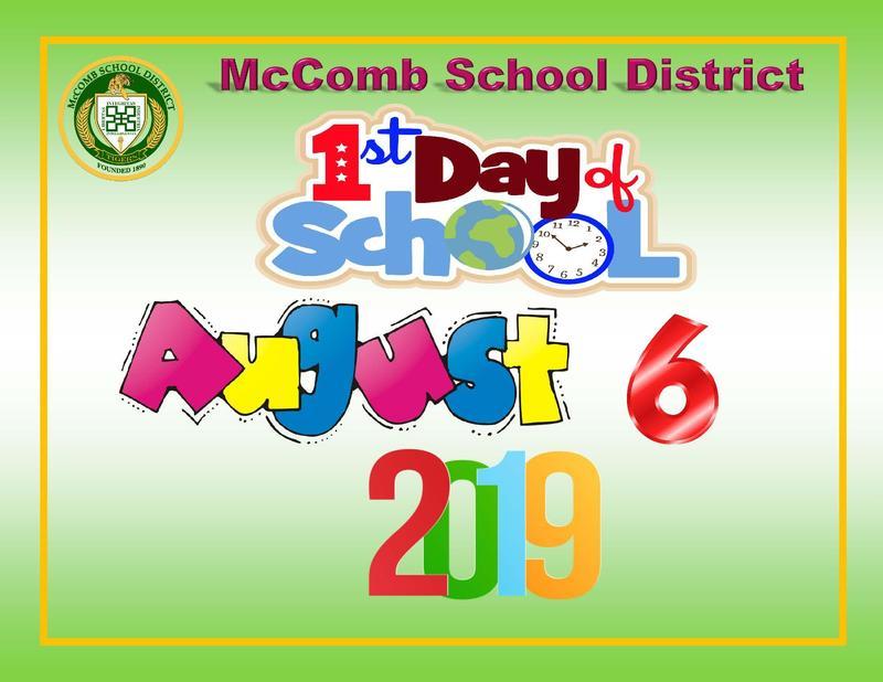 McComb School District Students Return flyer