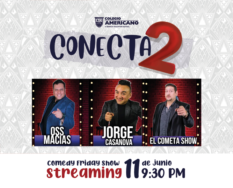 Conecta2 Comedy Friday Show Featured Photo