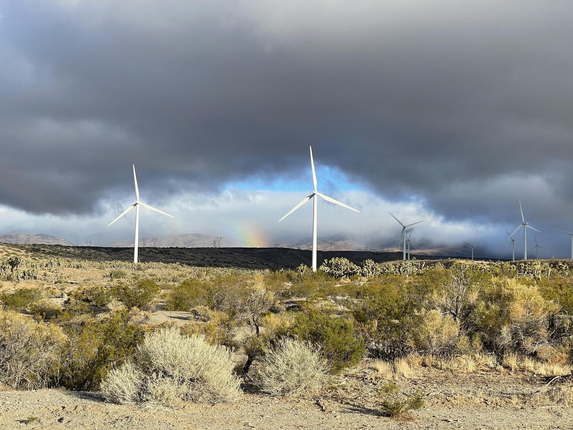 Rainbows and windmills