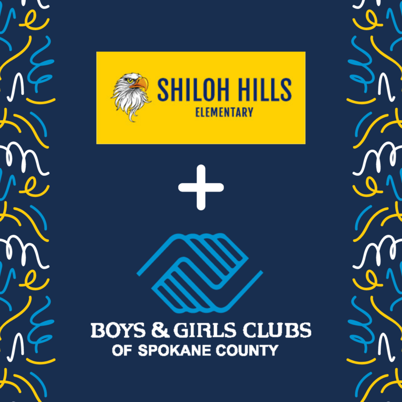 Shiloh Hills and Boys and Girls Clubs announcement graphic