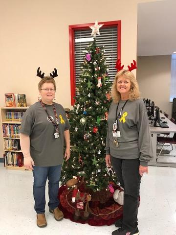 Merry Christmas from CMS Library staff!