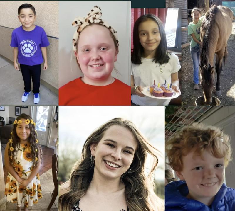 collage photo of uusd student of the month october 2020