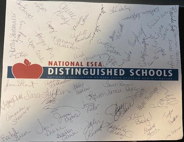 Distinguished School Banner