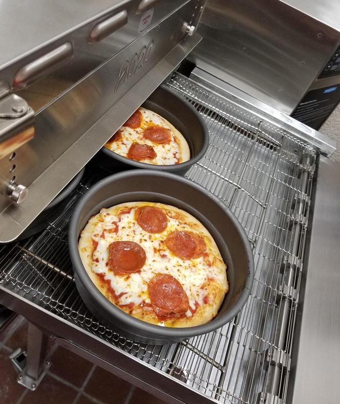Cheatham County middle and high school students have a hot, new lunch item on the menu this year: fresh, personal pizzas.