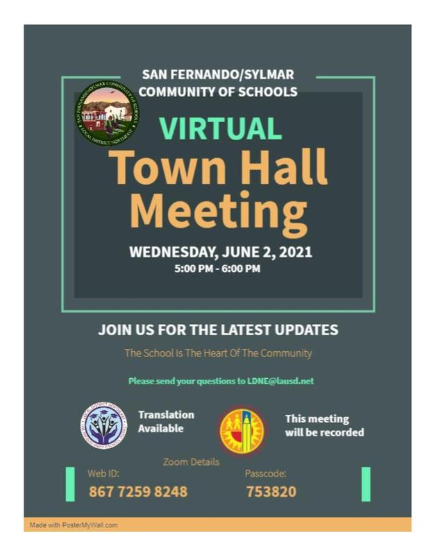 June Town Hall Meeting - English Featured Photo