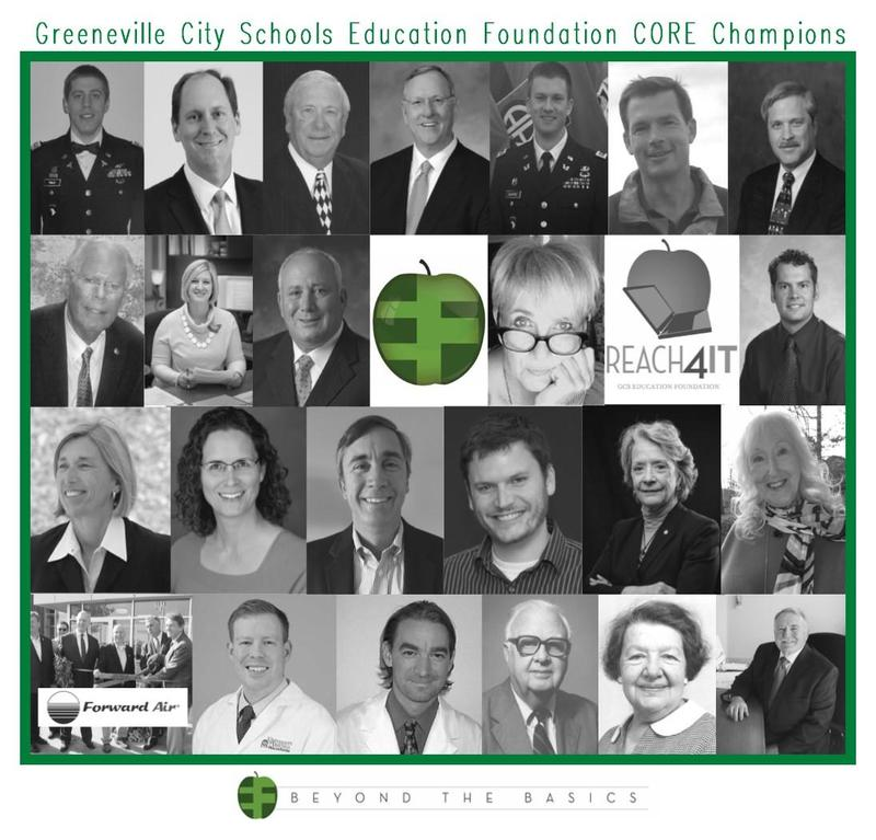 7th Annual GCS Education Foundation CORE Champions Nominations Featured Photo