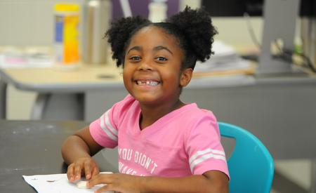 Photo of student smiling at GTE