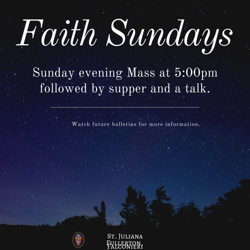 Faith Sundays Featured Photo