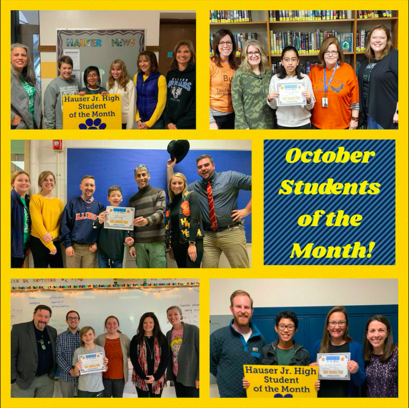 October Students of the Month! Featured Photo