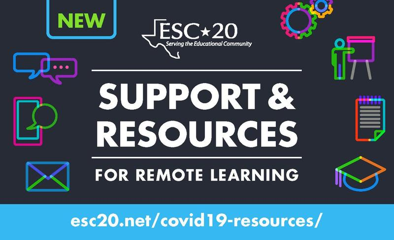 Support & Resources for Remote Learning Graphic