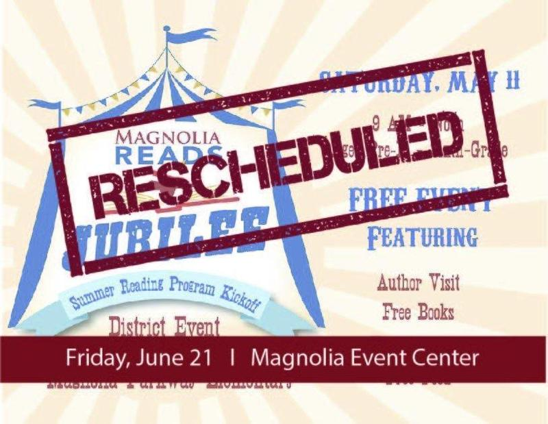Magnolia Reads Jubilee Rescheduled Icon
