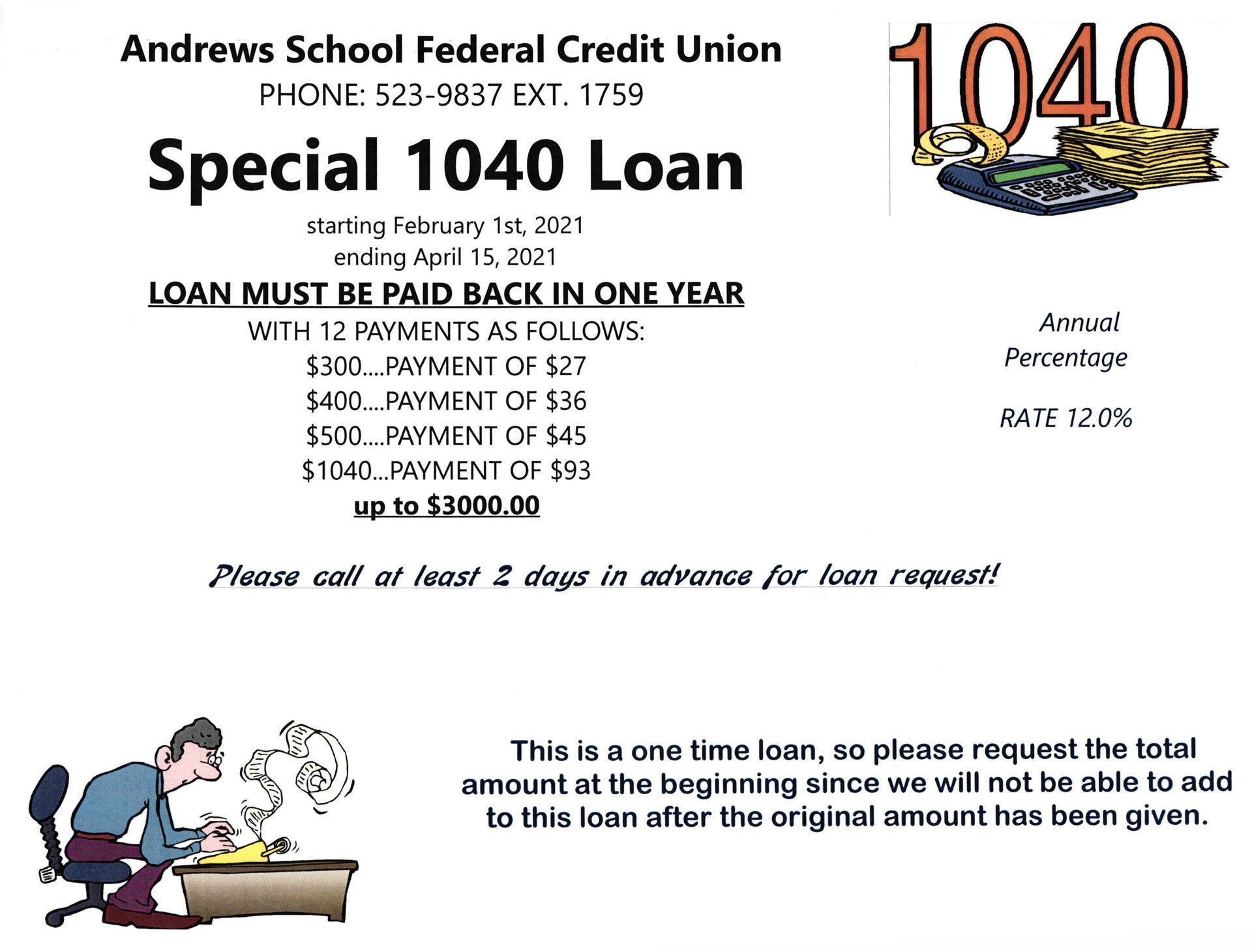 1040 Loan