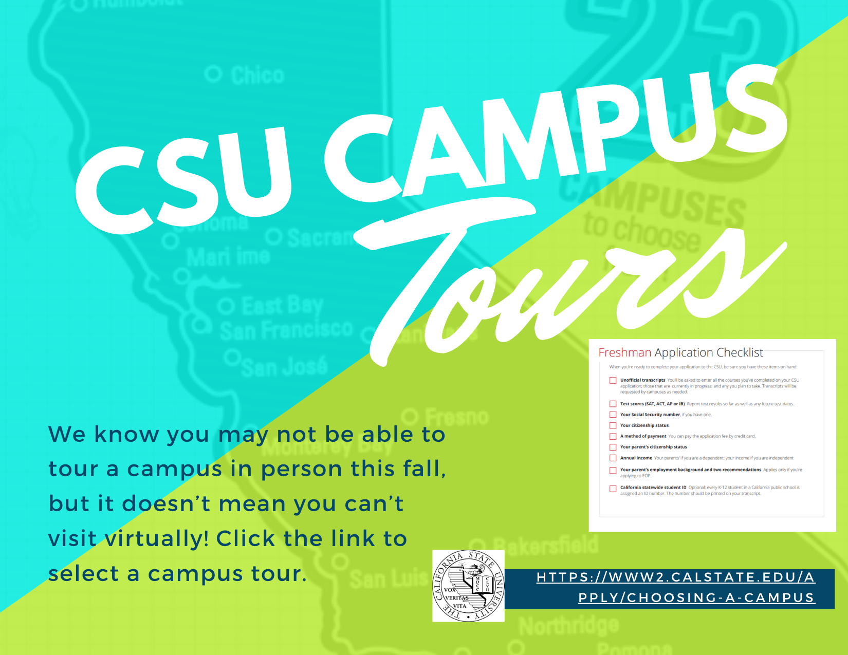 CSU Virtual Campus Tours