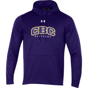 Purple Under Armour hoodie