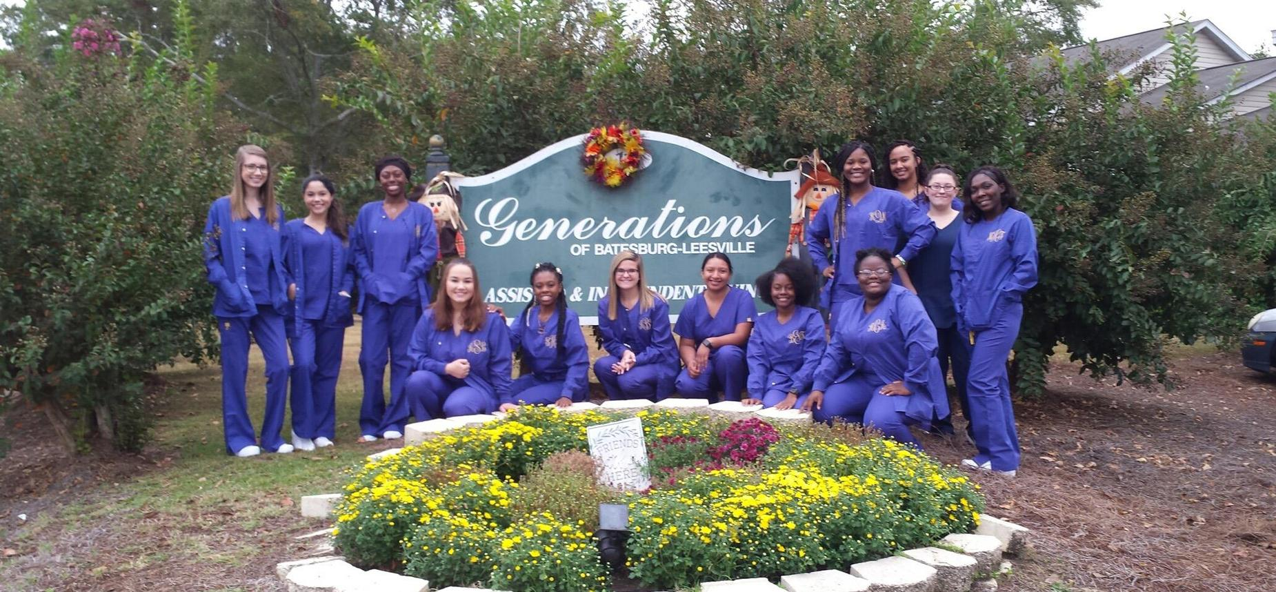 LLC CNA Students