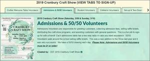 CEF Craft Show is Looking for Volunteers