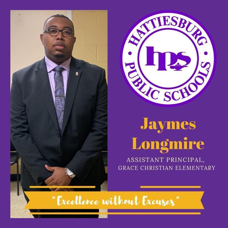 Jaymes Longmire, Assistant Principal