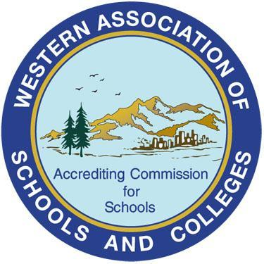 Color logo of Western Association of Schools and Colleges