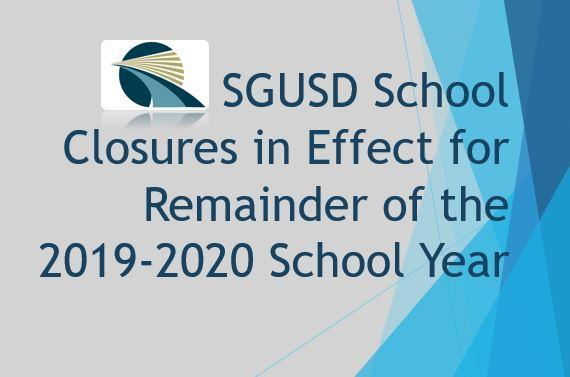 School Closures to Remain in Effect for 2019-2020