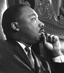 photo of Dr. M.L. King Jr.