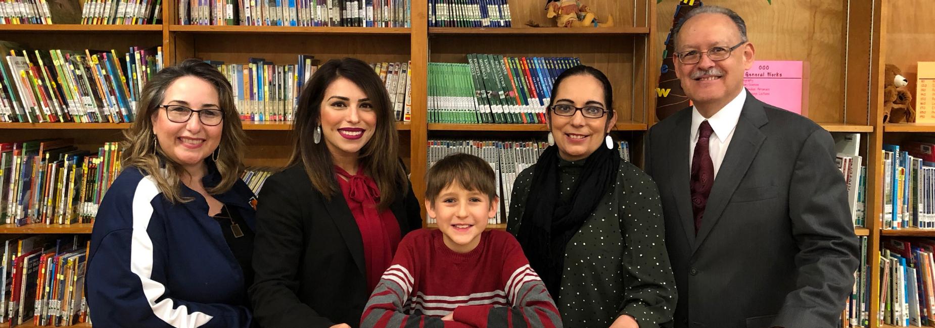 School Board Appreciation Month with Board Member Sam Saldivar