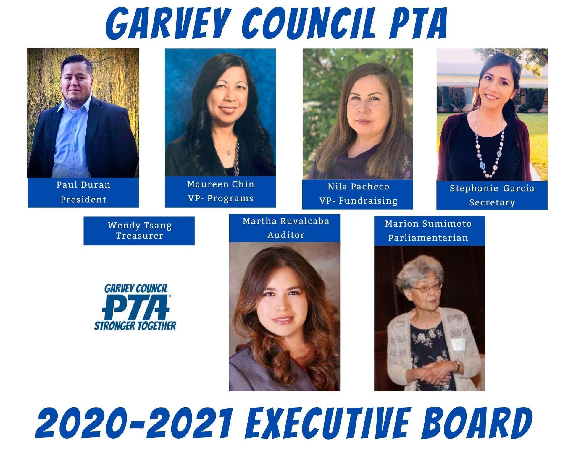 GCPTA Executive Board