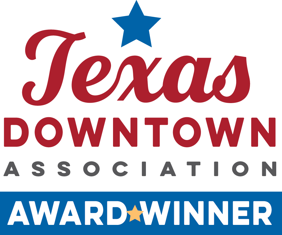 Texas Downtown Award winner logo