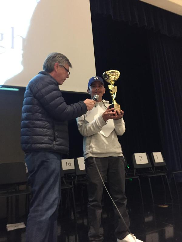 Eddie Chavez wins Global Studies 2nd Annual Spelling Bee! Featured Photo