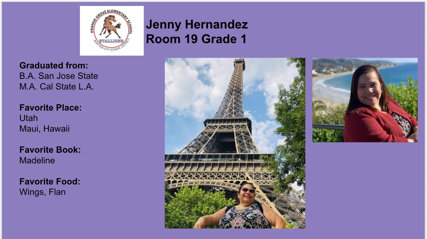 Hernandez Staff Flyer