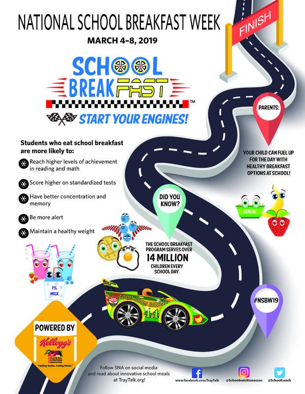 National School Breakfast Week flyer