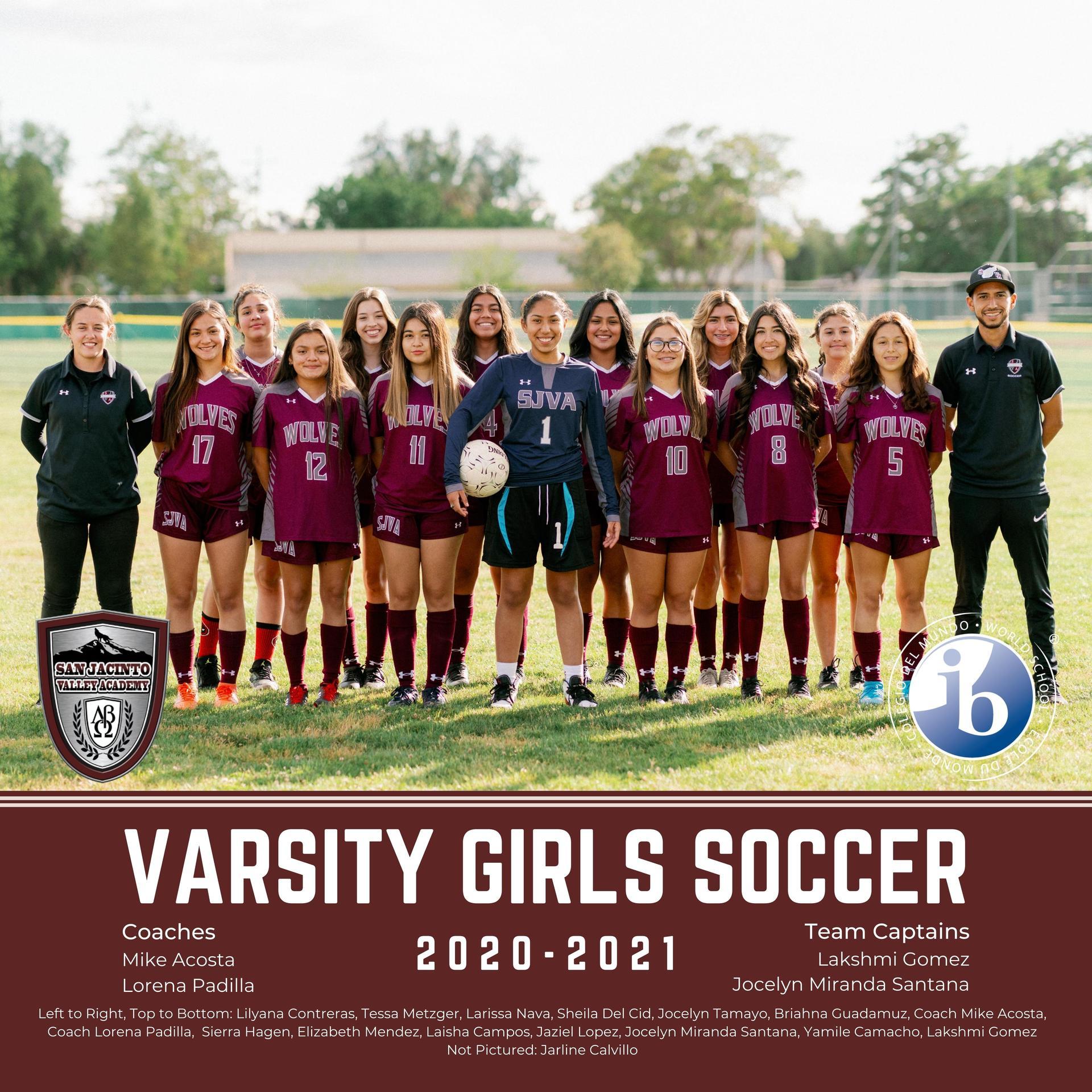 Lady's Varsity Soccer 2021