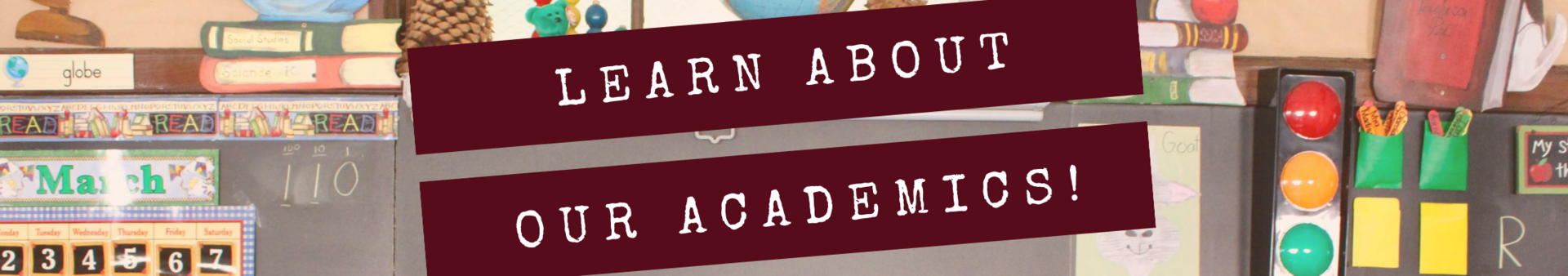Learn about our academics!