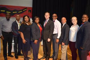 Congressman Michael Guest Visits McComb High School and Speaks at Jobs for Mississippi Graduates Ceremony