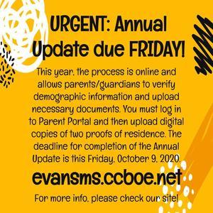 EMS Annual Update