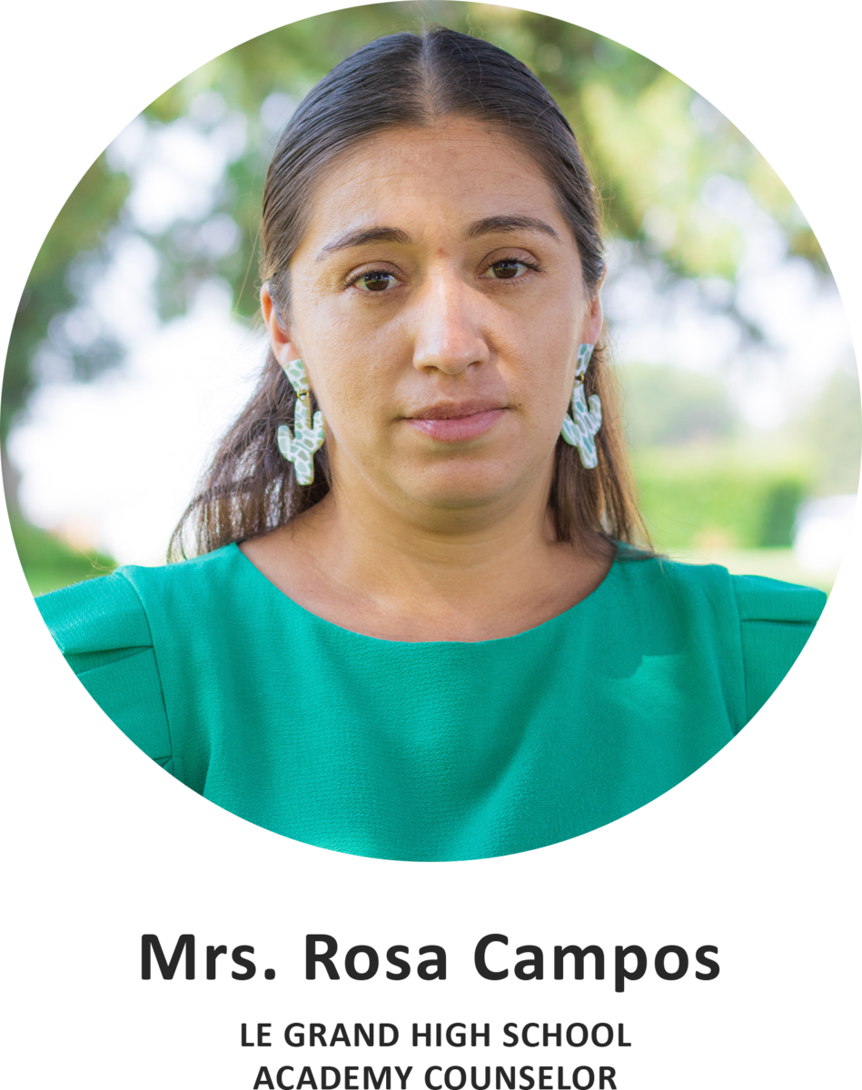 Mrs. Rosa Campos Title Card