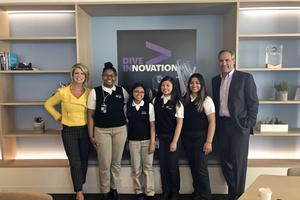 Students at Accenture