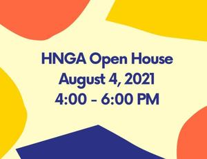 Open House Aug. 4th 4-6 pm
