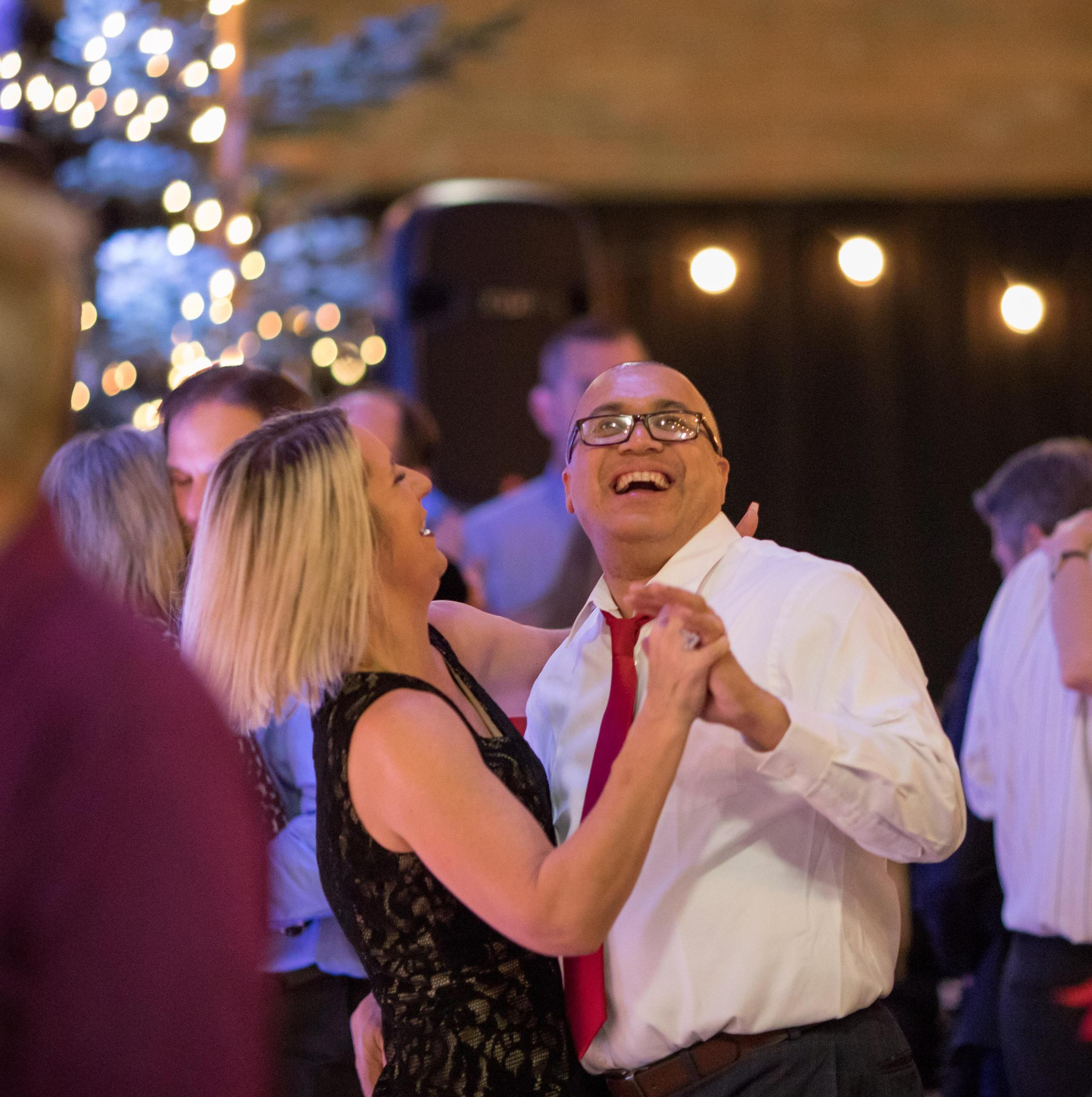 a couple dances on the dance floor