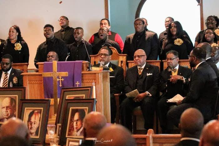 BCHS Gospel Choir 2019-2020 School Year - Alpha Phi Alpha Founder's Day Service