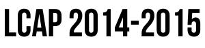 LCAP 2014-15