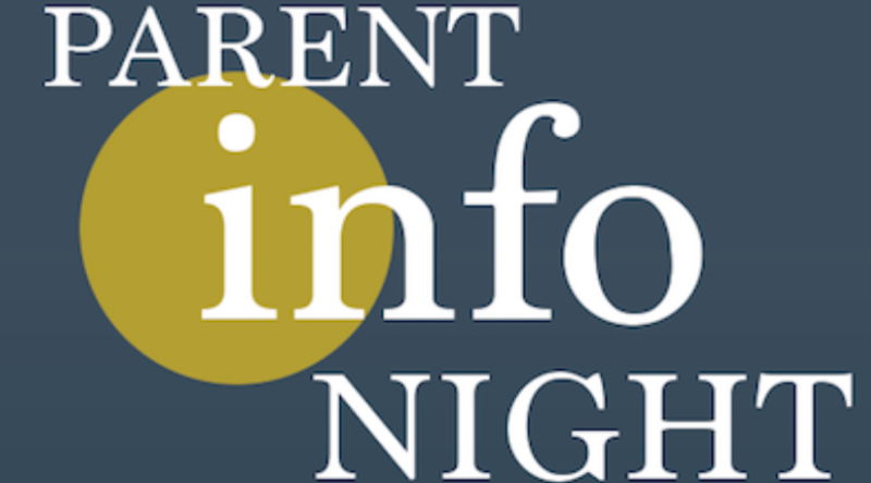 Parent Info Night