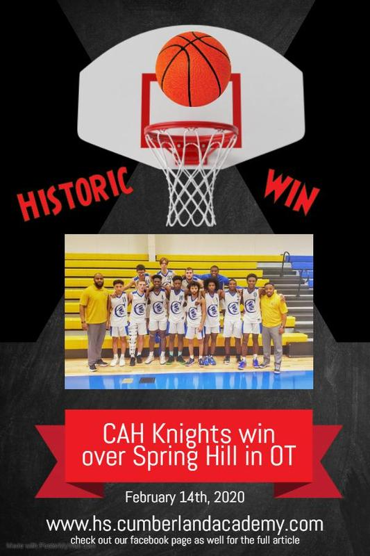 CAH Knights win over Spring Hill in OT Featured Photo