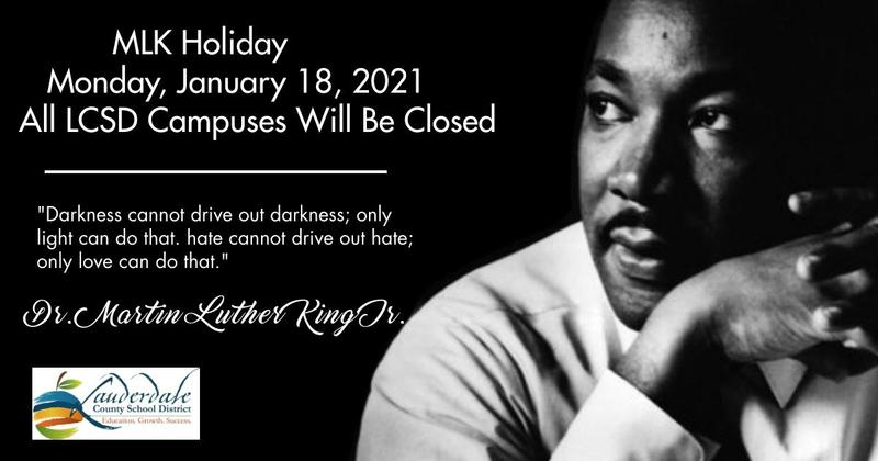 MLK Holiday Graphic