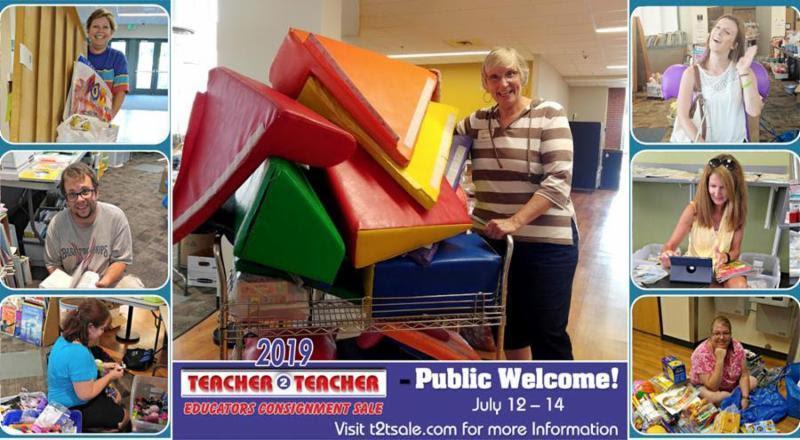 6th Annual Teacher 2 Teacher Educators Consignment Sale
