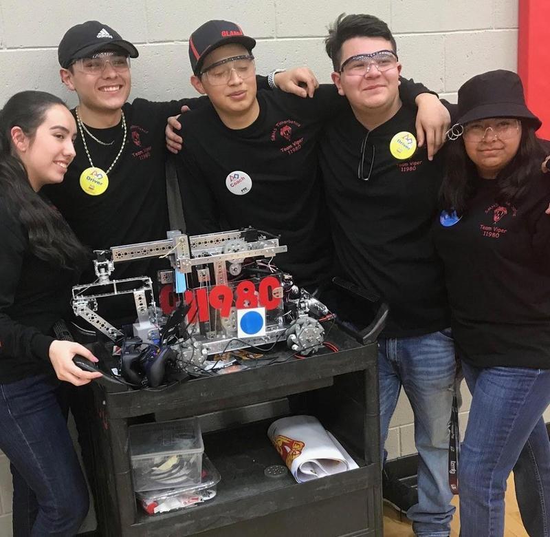 Robotics Team Qualifies for AZ State Tournament Thumbnail Image