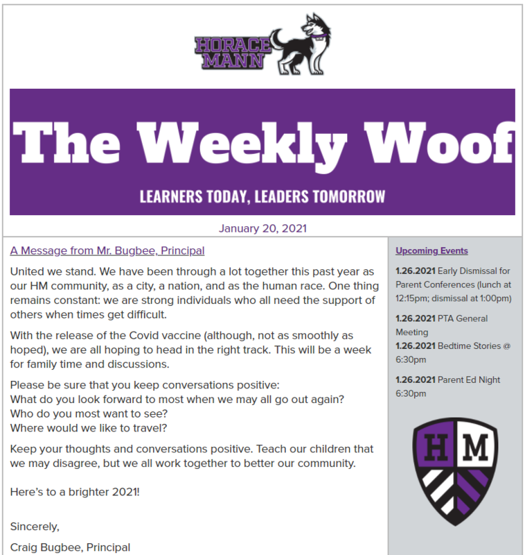 The Weekly Woof for January 20, 2021 Featured Photo